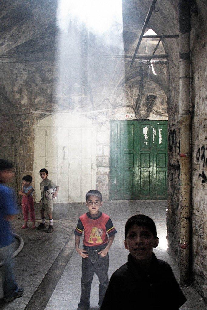 Hebron, old city. West Bank